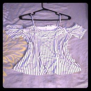 Strappy shirt